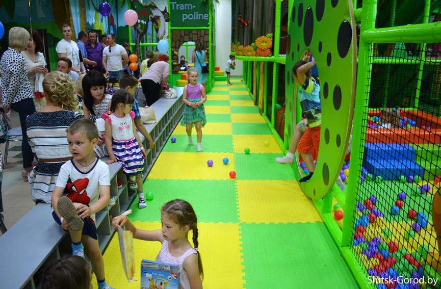 не большой детский развлекательный центр открыть оно
