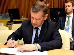 Беларусь подписала Кодекс поведения для достижения мира, свободного от терроризма