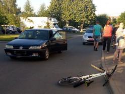 В Слуцке под колеса автомобиля попал 12-летний велосипедист