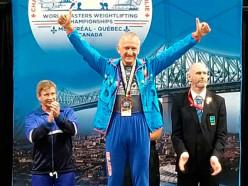 Случчанин Василий Шуманский стал чемпионом мира по тяжелой атлетике среди ветеранов