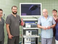 На вооружении слуцких хирургов появилось новое лапароскопическое оборудование фирмы «Олимпус»