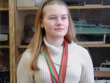 Случчанка Валерия Махлай взяла серебряную медаль на Чемпионате мира по судомодельному спорту