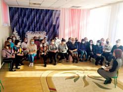 Участница делегации ВНС от Слуцка рассказала коллективу о впечатлениях от форума