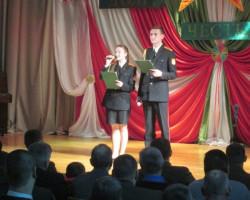 В кадетском училище прошел концерт, посвященный Дню спасателей