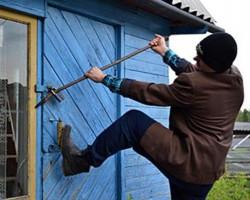 Профилактика краж из дачных домов