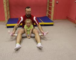 С нового года в секцию оздоровительной гимнастики и акробатики начался новый набор на 2018-2019 годы обучения