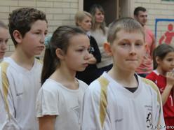 Районная спортландия ко Дню памяти воинов-интернационалистов прошла в 13 школе