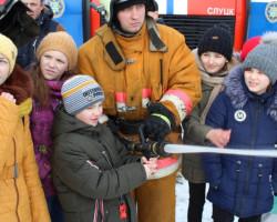 Слуцкий РОЧС принял участие в праздновании Масленицы