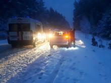 14 января вблизи деревни Жилин Брод грузовик сбил велосипедиста и скрылся