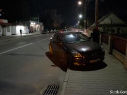Вечернее ДТП на улице 14-ти Партизан: никто не пострадал