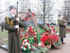 Торжественный митинг по случаю 30-летия вывода советских войск из Афганистана прошел в Слуцке