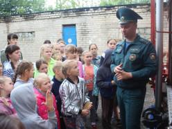 Провести каникулы безопасно детям помогают работники Слуцкого районного отдела по чрезвычайным ситуациям