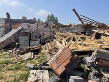 В Фаниполе обрушилось строящееся здание храма-часовни