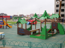 В Слуцке  появилась новая детская площадка от МЧС