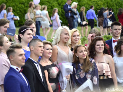 В ГДК прошел выпускной Слуцкого медколледжа. Фото