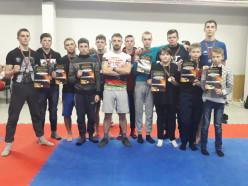17 из 20 бойцов слуцкого «Феникса» вернулись с медалями
