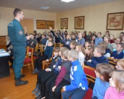 В Замостской школе прошла конкурсная игра «Находчивые спасатели»