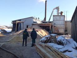 Спасатели ликвидировали загорание котельной на предприятии в Слуцке