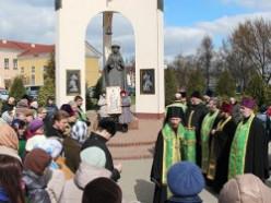 1 апреля Слуцк посетил епископ Вениамин