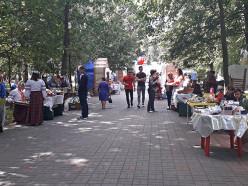 Скоморохи, коробейники, вышиванки и каверзный опрос от SG. Как прошёл праздник в слуцком парке