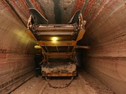 В шахте «Беларуськалия» горела доставочная машина
