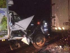 В Слуцком районе столкнулись два грузовика, потребовалась помощь спасателей