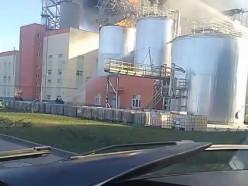 На Светлогорском целлюлозном комбинате мощный пожар, минимум один человек погиб