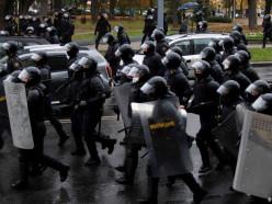 МВД: на воскресных акциях протеста задержано 713 человек, 570 ждут суда