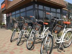 Мини-кафе «Блино» открыло аренду велосипедов