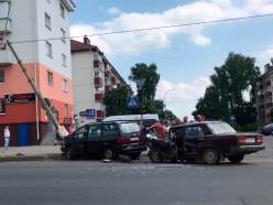 ДТП возле 58-го магазина: водитель ВАЗ не заметил встречный автомобиль