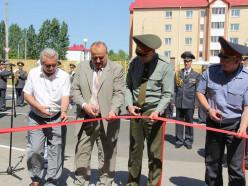 В Солигорске состоялось открытие базы солдат внутренних войск