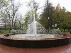 В слуцком парке запустили фонтан. По какому графику он будет работать