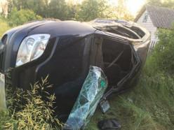Мотоциклист-бесправник не уступил дорогу авто: травмы получил он и его 12-летний брат