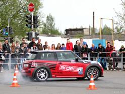 Скоростное маневрирование пройдёт в Слуцке 2 мая на стоянке ТЦ «Маяк»