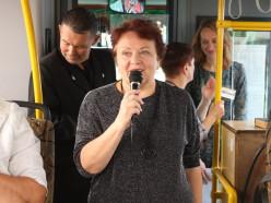 15 сентября случчан катал по городу поэтический автобус