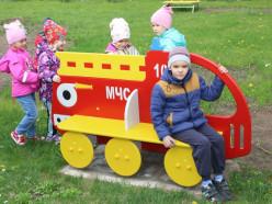 Новая имиджевая площадка МЧС появилась в детском саду Слуцка