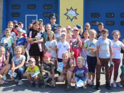 Слуцкий РОЧС принял в гости учащихся начальных классов Средней школы № 11