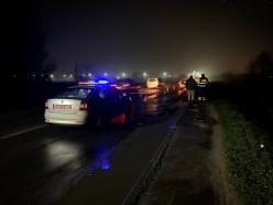 У моста в Новодворцах сбили пешехода. ГАИ ищет очевидцев
