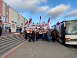 В Слуцке прошёл митинг к 99-й годовщине Слуцкого восстания. Прямой эфир