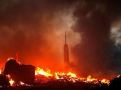 В Калифорнии лесные пожары: сгорело около 2000 домов, эвакуирован целый город