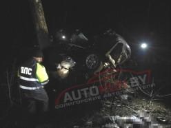 Cтрашное ДТП под Солигорском - погибли два пассажира BMW (обновлено)