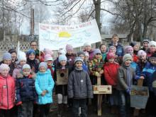 В Слуцком районе дети отметили первый прилет аистов