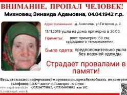 Всю ночь в Солигорском районе волонтеры искали 77-летнюю пенсионерку