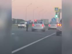 Вчера минские водители устроили «автопробег солидарности» в Слуцк