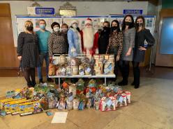 24 слуцких предприятия АПК сказали «Спасибо медикам» и передали им подарки к Новому году