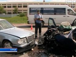 Две крупные аварии возле Слуцка в один день
