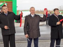 Торжественно открылась новая АЗС на улице М. Богдановича
