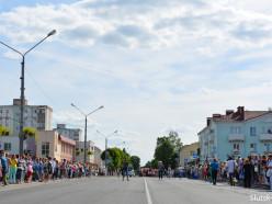 9 июня в центре Слуцка ограничат движение транспорта