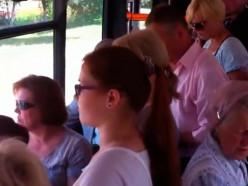 Баптисты «обрабатывают» городские автобусы