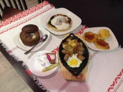 В кафе Колизей «Неделя белорусской кухни»